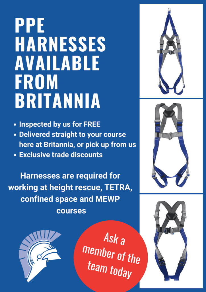 Purchase PPE Harnesses Britannia